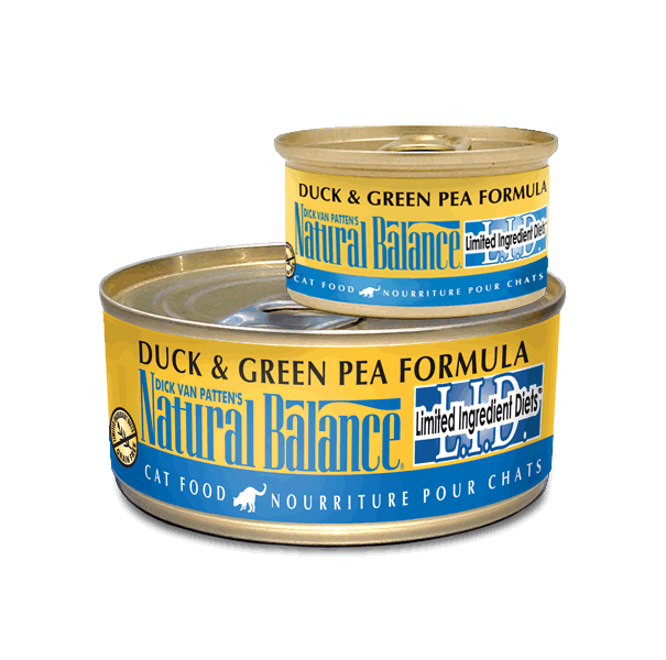 Natural Balance Duck And Green Pea Cat Food Review